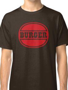 Classic Burger Logo Classic T-Shirt