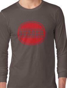 Classic Burger Logo Long Sleeve T-Shirt