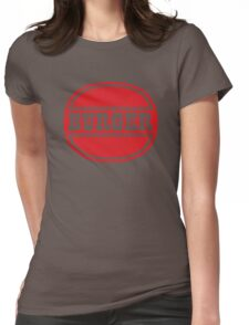 Classic Burger Logo Womens Fitted T-Shirt
