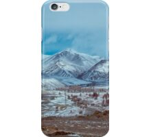 Altai mountains with snow , kosh-agach. Russia iPhone Case/Skin
