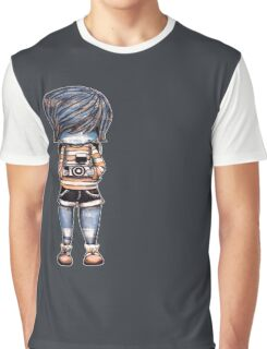 Smile Baby Photographer Graphic T-Shirt