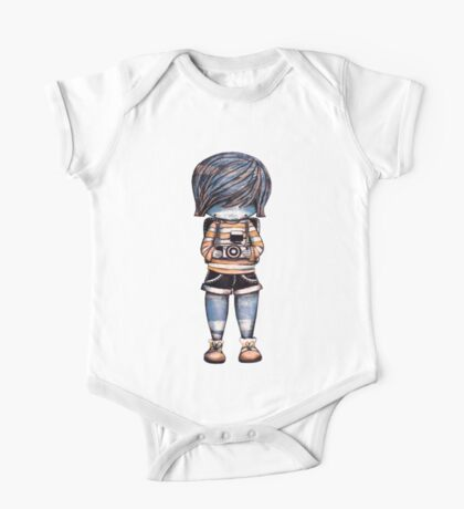 Smile Baby Photographer One Piece - Short Sleeve