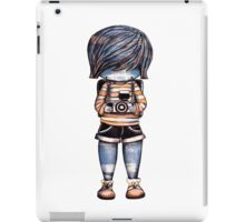 Smile Baby Photographer iPad Case/Skin