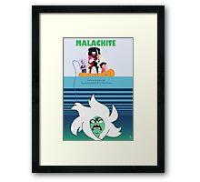 Malachite Jaws Framed Print