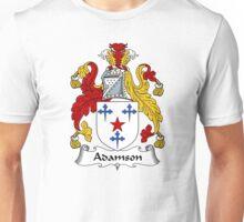 Adamson Coat of Arms / Adamson Family Crest Unisex T-Shirt