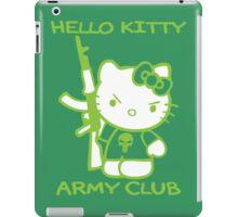 Hello Kitty Army Club iPad Case/Skin