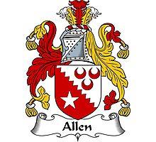 Allen Coat of Arms / Allen Family Crest Photographic Print