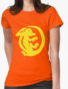 Orange Iguanas Womens Fitted T-Shirt