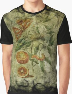 Botanica Malefactum 5 - Sweet Orange Graphic T-Shirt