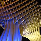 Metropol Parasol, Seville at Night by wiggyofipswich