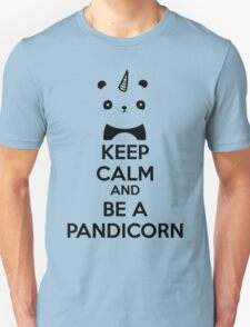 Keep Calm And Be A PandiCorn Unisex T-Shirt