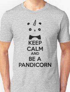 Keep Calm And Be A PandiCorn Unisex T-Shirt