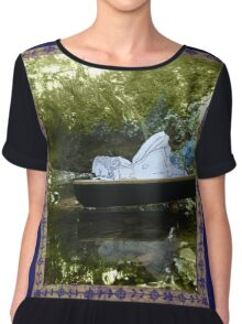 Alice is Dreaming Women's Chiffon Top