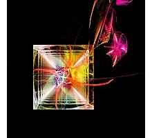 Rainbow Geometry Photographic Print