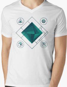 Prism Mens V-Neck T-Shirt