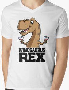 Winosaurus Rex Mens V-Neck T-Shirt