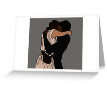 Finn & Rey Greeting Card