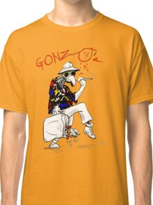 Gonzo- Fear and Loathing in Las Vegas parody Classic T-Shirt