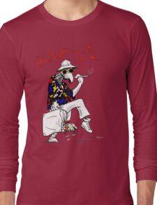 Gonzo- Fear and Loathing in Las Vegas parody Long Sleeve T-Shirt