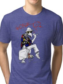 Gonzo- Fear and Loathing in Las Vegas parody Tri-blend T-Shirt