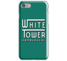 White Tower Hamburger Logo iPhone Case/Skin
