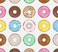 Donuts Galore by Corinna Djaferis