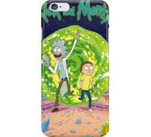 Rick and Morty - Portal iPhone Case/Skin