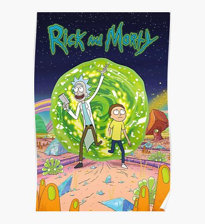 Rick and Morty - Portal Poster