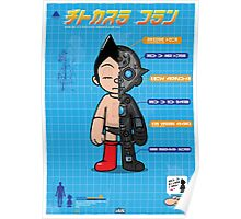 AstroBoy Disection Blueprint Poster