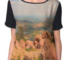 Mount Scott  Chiffon Top