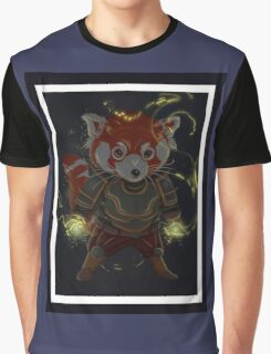 Magical Red Panda Graphic T-Shirt