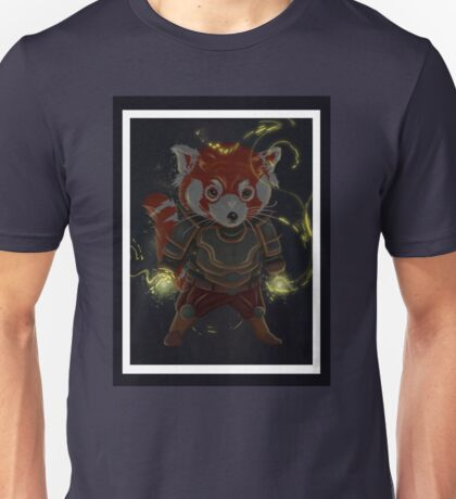 Magical Red Panda Unisex T-Shirt