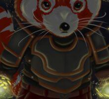Magical Red Panda Sticker