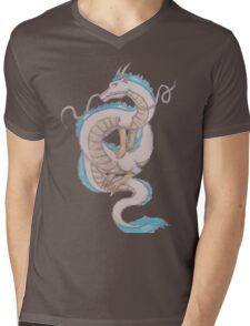 Haku - Spirited Away Mens V-Neck T-Shirt