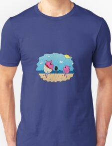 PiGgy on Vacation! Unisex T-Shirt