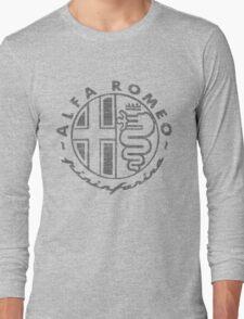 A Romeo DISTRESSED Pininfarina Long Sleeve T-Shirt