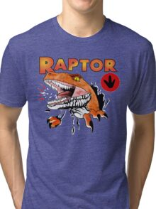Ghost World raptor Tri-blend T-Shirt