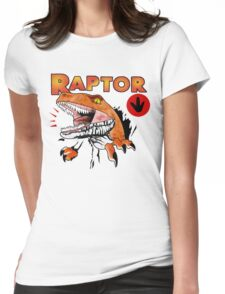 Ghost World raptor Womens Fitted T-Shirt
