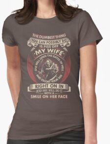 Don't Piss Off My Wife T-Shirt Womens T-Shirt