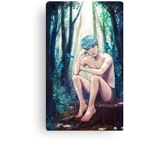 Yoongi Commission Canvas Print