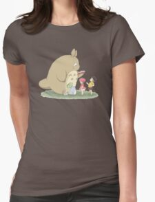 play with totoro Womens T-Shirt