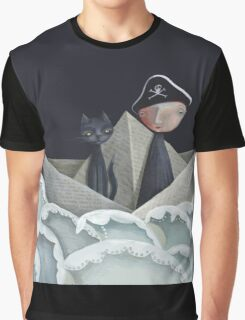 The Pirate Ship Graphic T-Shirt
