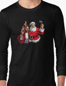 Jesus Santa Selfie Long Sleeve T-Shirt