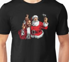 Jesus Santa Selfie Unisex T-Shirt
