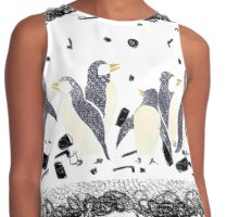 The Gifts To Penguins Contrast Tank