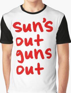 Sun's Out Guns Out Graphic T-Shirt