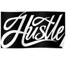 Hustle Torn - White Poster