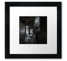 Abandoned and Desolate Framed Print