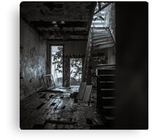 Abandoned and Desolate Canvas Print