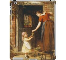 Vintage famous art - George Smith - Gathering The Grapes iPad Case/Skin
